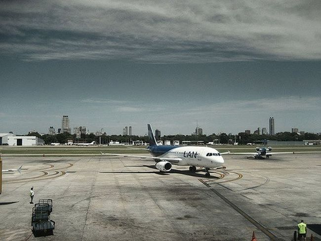 Buenos Aires At The Airport Airplane Cityscapes