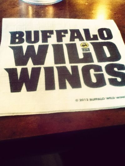 At Buffalo Wild Wings