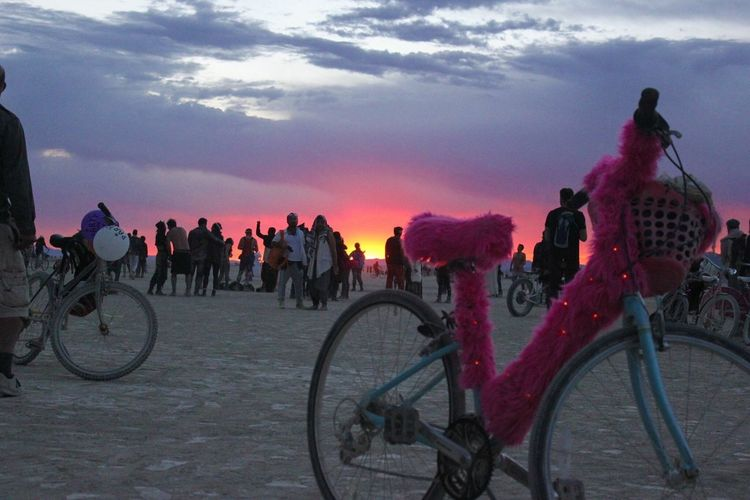 Burning Man Sunrise Magic Paradise