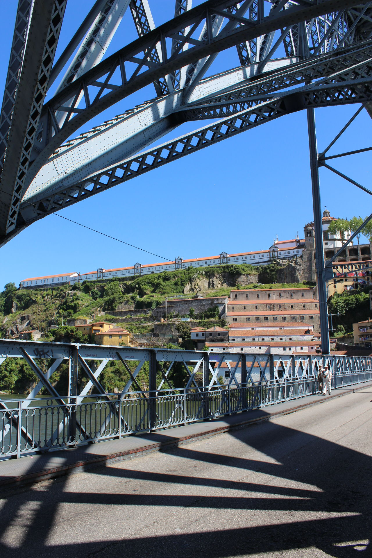 Architecture Bridge - Man Made Structure Built Structure City Day Douro  Metal Bridge No Filter, No Edit, Just Photography No People Outdoors Porto Portugal River Sky Travel Destinations