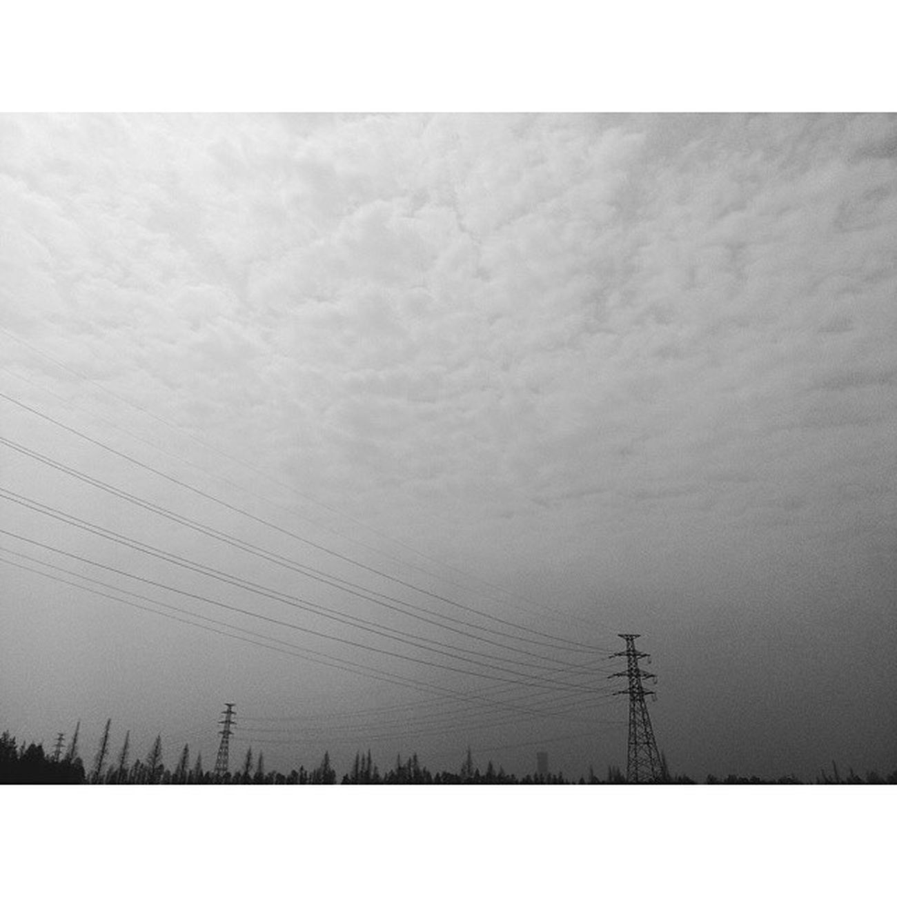 黑白 Blackandwhite 湖南农业大学 Hunan vscocam vsco changsha 长沙 sky cloud