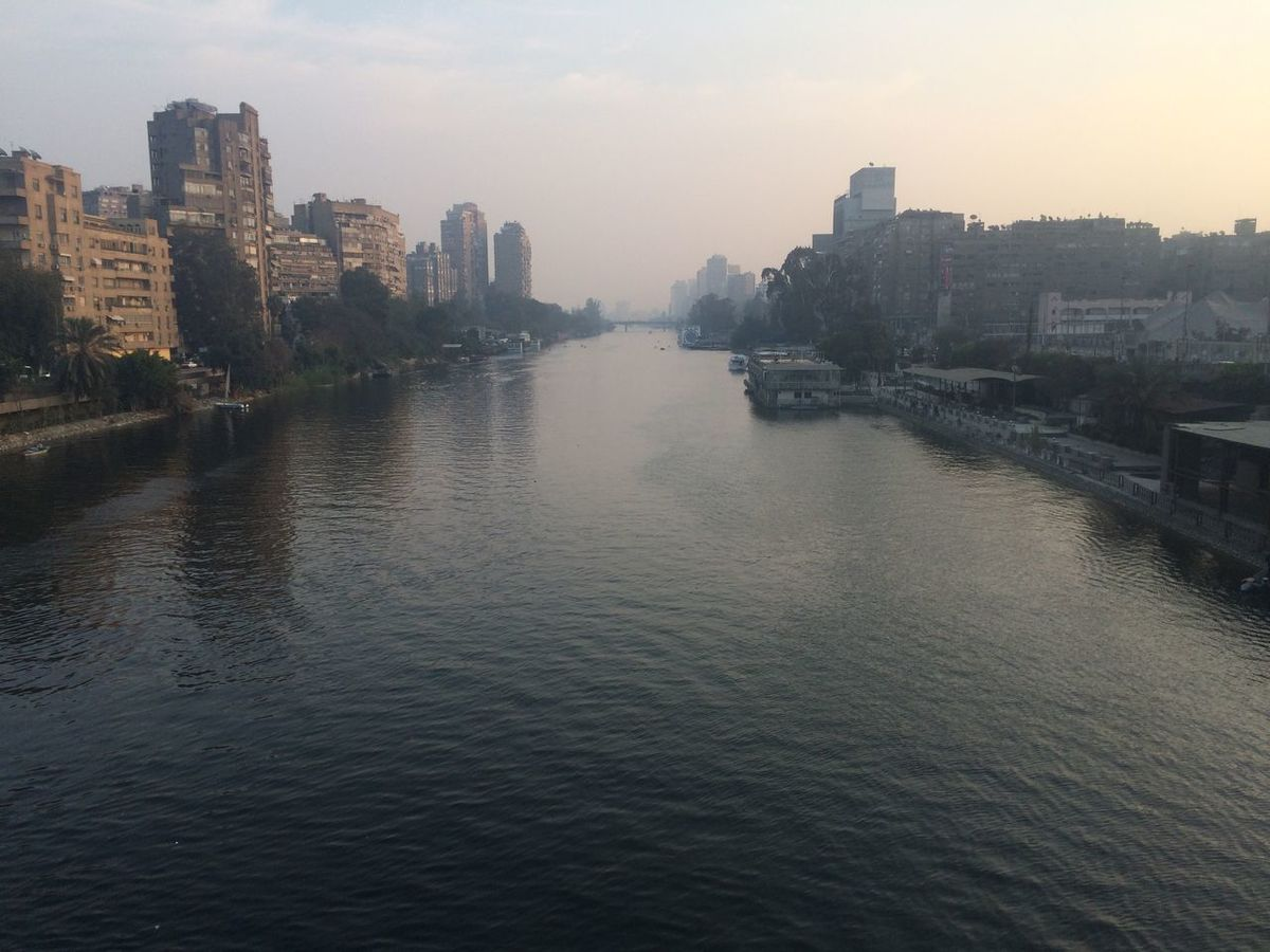 Bridge - Man Made Structure City Day Nile River No People Outdoors River Water Zamalek