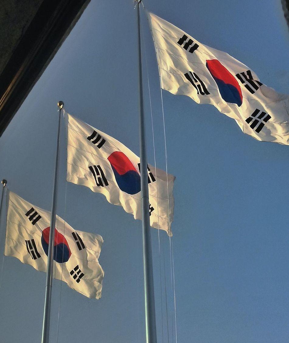 Beautiful stock photos of flag, Blue, Clear Sky, Day, Flag