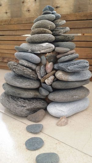 Stones Stack Close-up Indoors  No People Freshness Day Pebbles Stones Pebblehouse