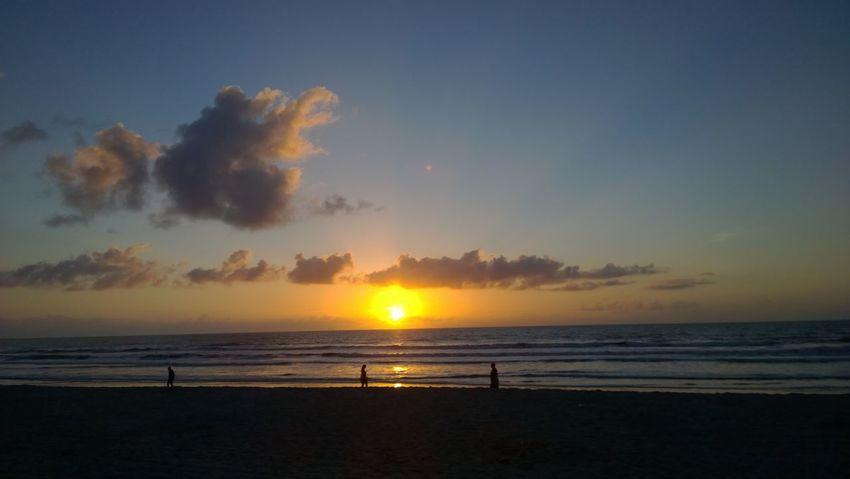 Clouds And Sky Cocoa Beach Color Dream Florida Life Sand & Sea Sea Sun Sunrise