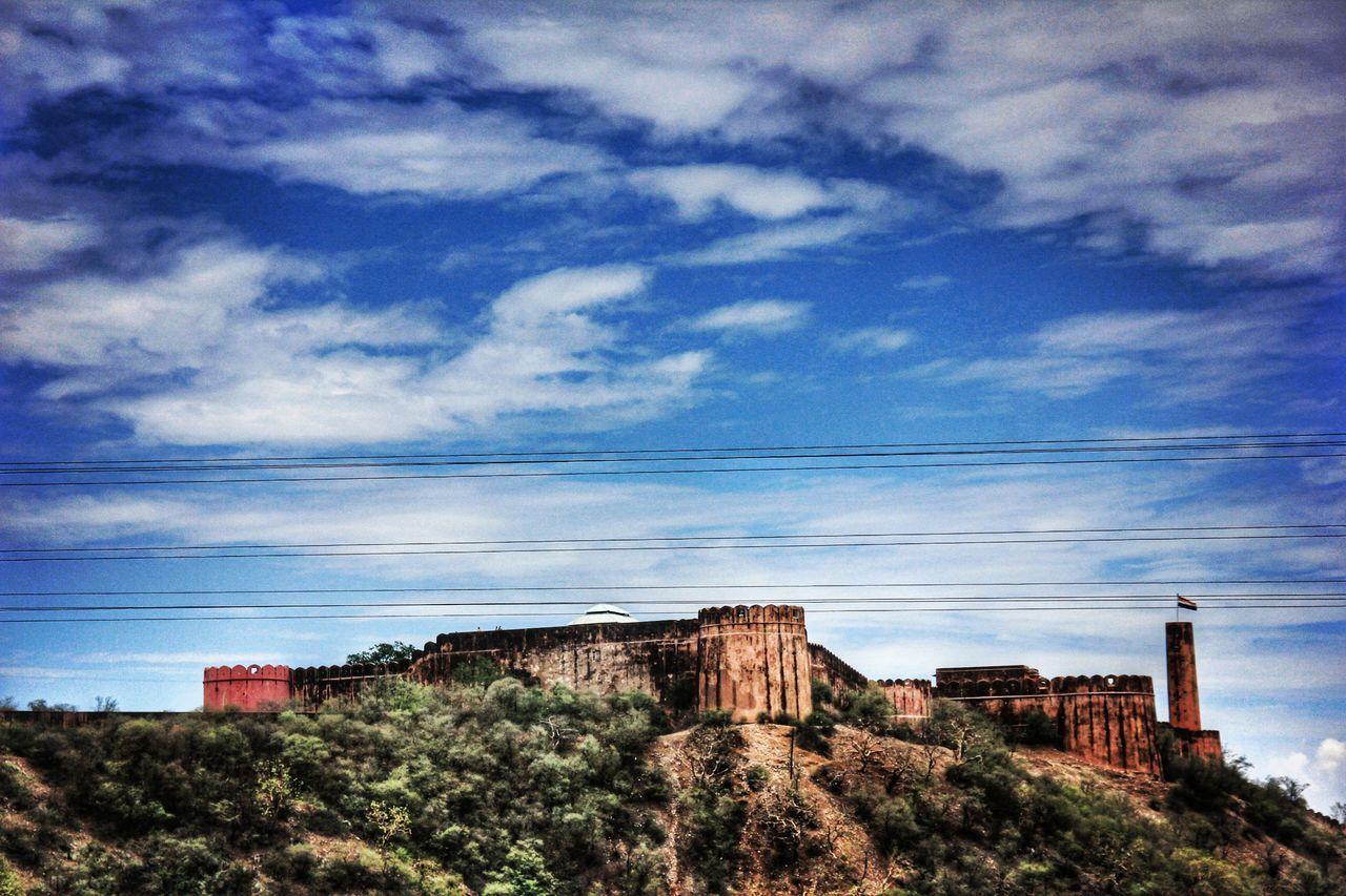 Jaigarh Fort Jaipur Built Structure Sky Nature Jaipur Jaipur Tourist Place Jaigarh Fort Jaipur