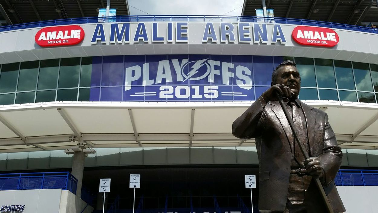 Phil Esposito Stanley Cup Tampa Bay Lightning Go Bolts Be The Thunder