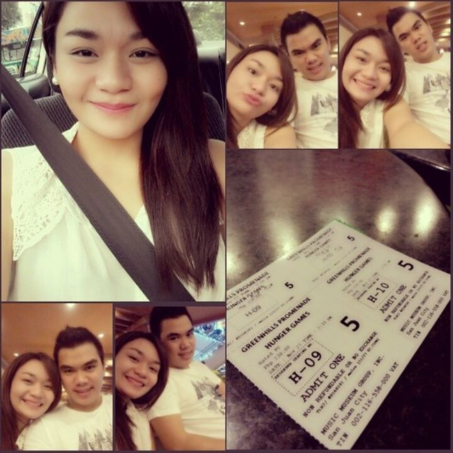 Movie date with my love! ♥ Greenhills Catchingfire Bitin Restday