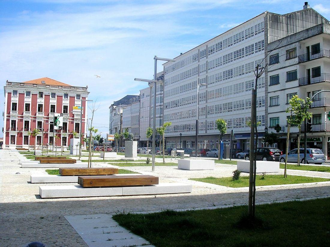 Viveiro Lugo Galicia, Spain Galicia Galiciameiga Calle Street Plaza