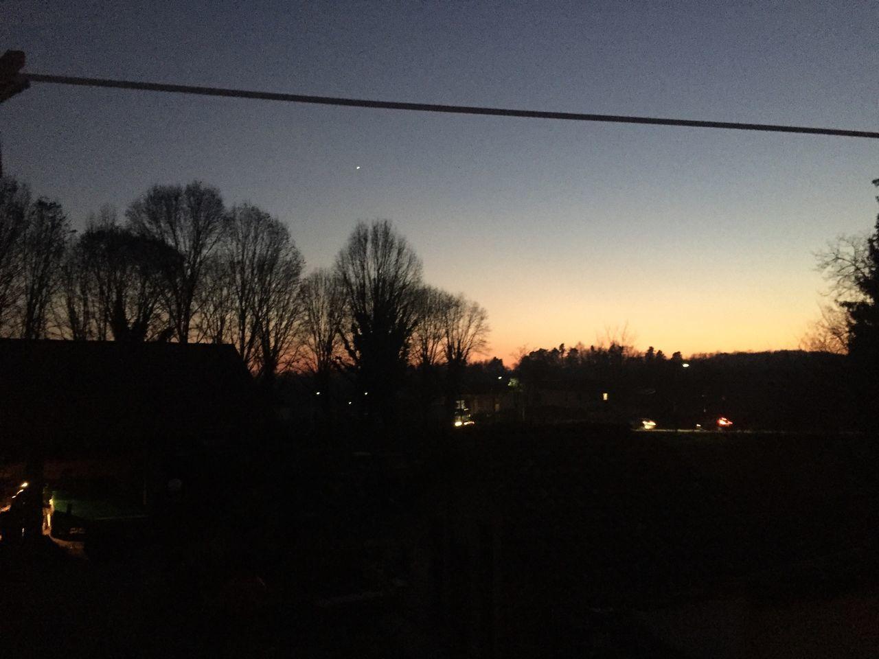 La bellezza della natura Sunset Silhouette Tree Sky Nature Dark Beauty In Nature