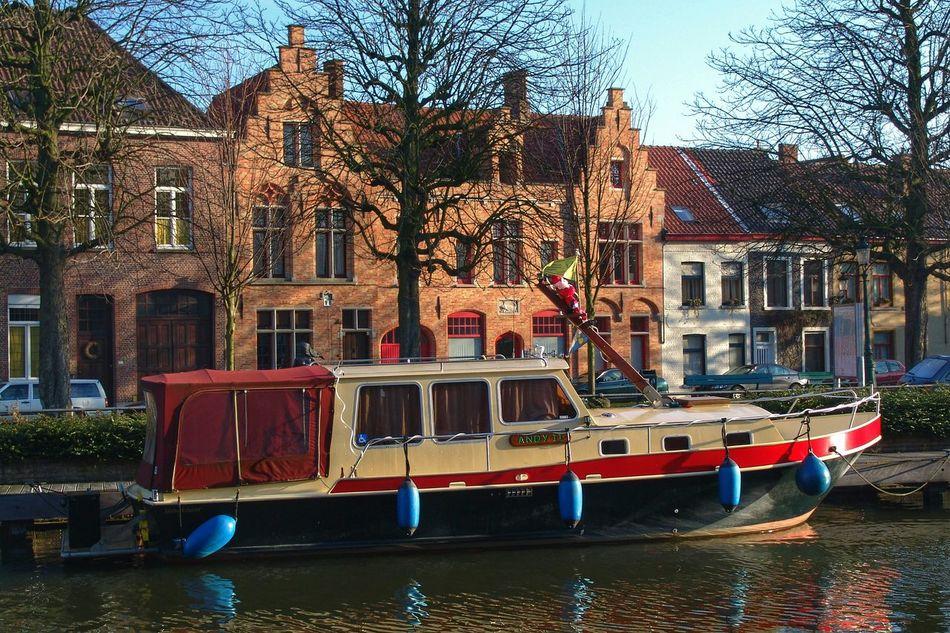 Waterways in Bruges