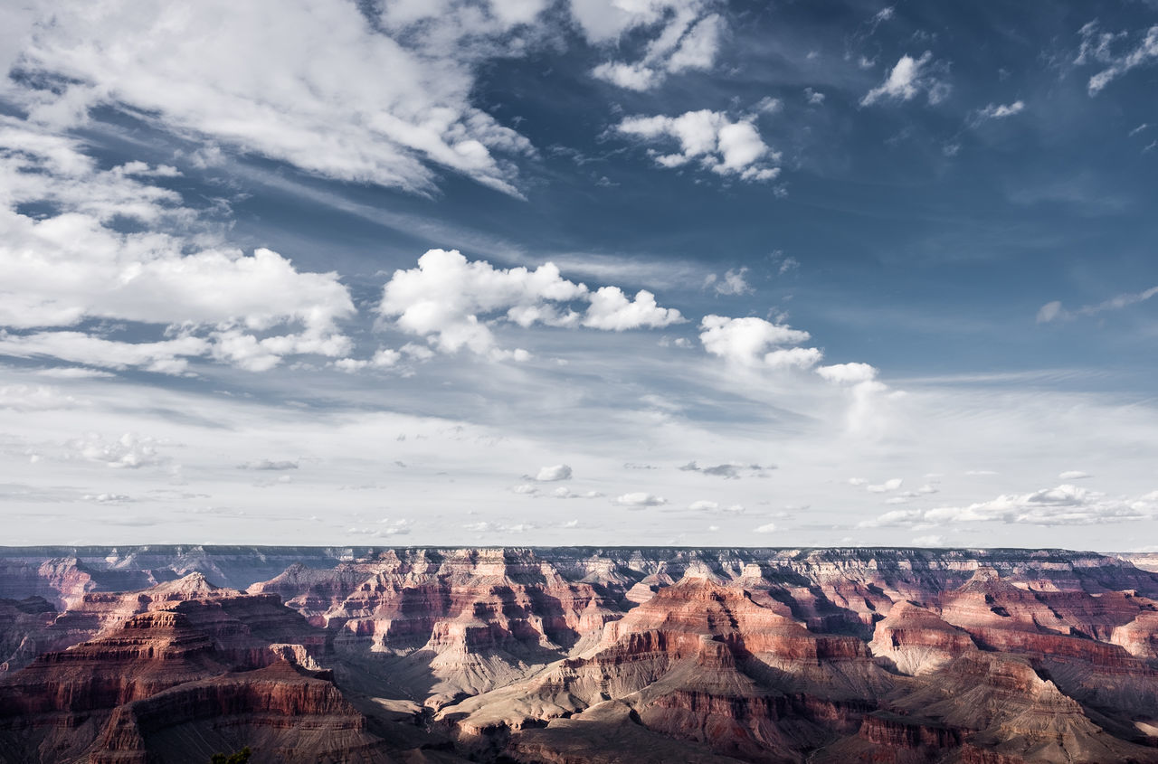 In this picture: approx. 0.2% of the Grand Canyon National Park, Arizona, USA. Adventure Arizona Clouds Epic Fujifilm Fujinon Geology Grand Canyon Horizon Landscape Landscape_Collection Landscape_photography Nature No People Outdoors Roadtrip Rock Formation Travel Travel Destinations Travel Photography USA Vacations Wanderlust Wide Angle X-T10