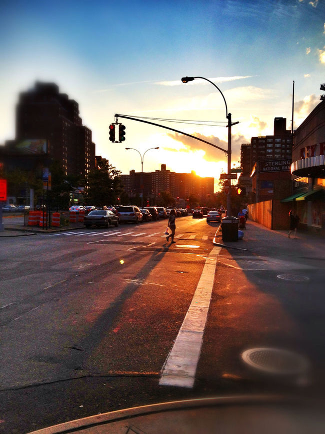 Sunset On Queens Blvd