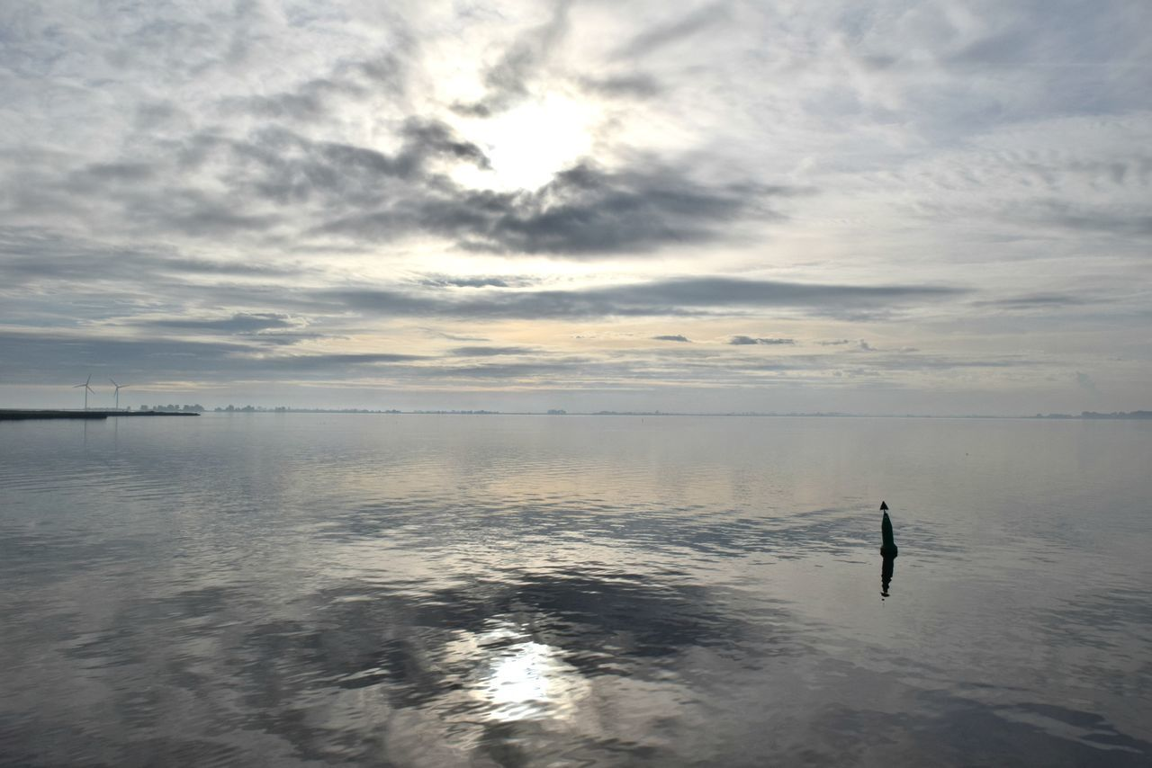 Beach Beauty In Nature Cloud - Sky Day Holland Horizon Over Water Light And Shadow Mirroring In Water Nature No People Outdoors Reflection River Sand Scenics Sea Sky Sunset Tranquil Scene Tranquility Water Water Reflections