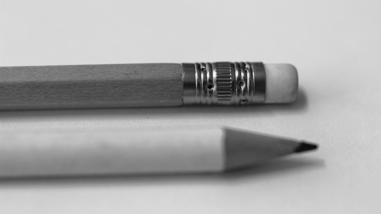 Beautiful stock photos of pencil, Close-Up, Copy Space, Education, Equipment