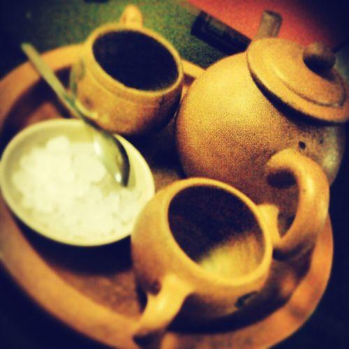 Traditional Indonesia Tea Poci