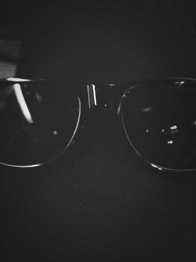 Blackandwhite Enjoying The Sun Sunglasses Simplicity