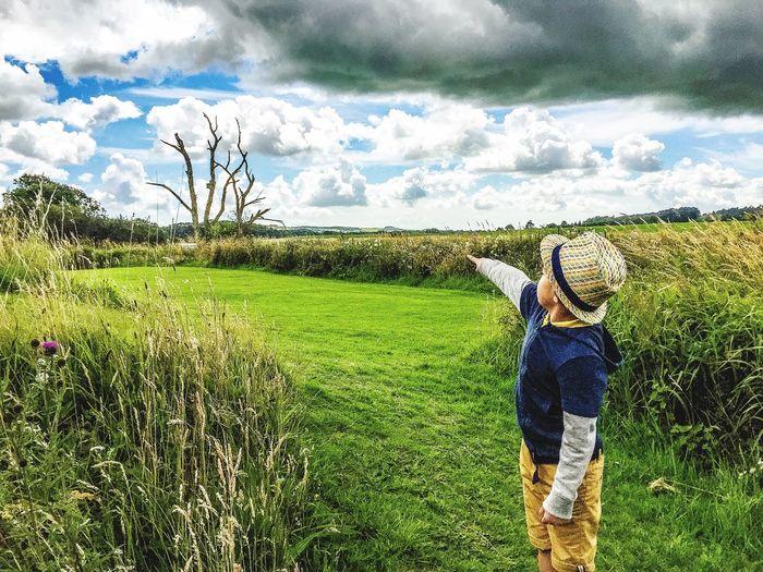 Scotland Dumfries Sightseeing, Naturephotography Naturepark Kids Holiday Clouds And Sky Clouds Grass Green Scotland Iphonephotography IPhoneography EyeEm EyeEm Gallery