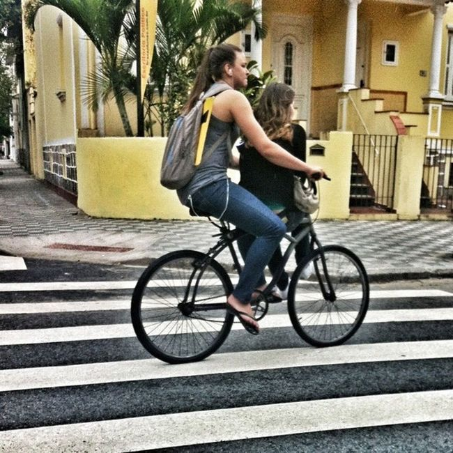 Share the road (and the bike) Santoslife