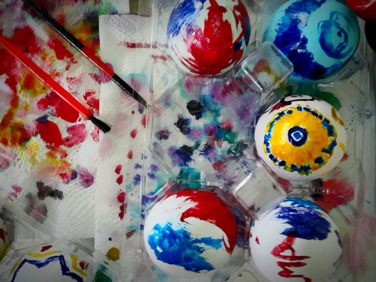 Easter Colors... Easter Easteregg Eastercolors Handpaintedeasteregg Deceptively Simple