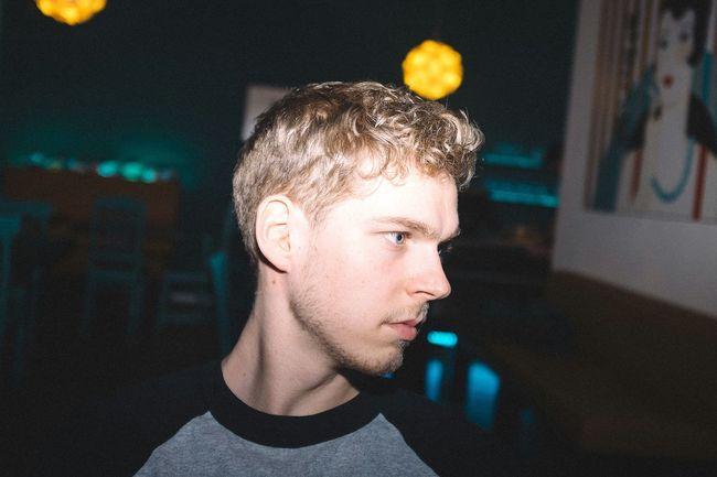 Staring EyeEm Best Shots - People + Portrait Portrait Of A Friend Man Boy Profile Blonde Today's Hot Look Fujifilm Blue Eyes Getting Inspired