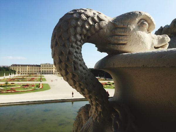 Viena, Austria Sculpture Statue Day No People Built Structure Outdoors Architecture Close-up Sky