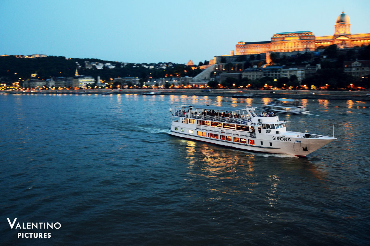 #bluehour #budacastle #budapest #danube #heritage #longexposure #unesco Architecture Building Exterior City Cityscape Ferry Mode Of Transport Nautical Vessel No People Outdoors River Sky Transportation Travel Water Waterfront