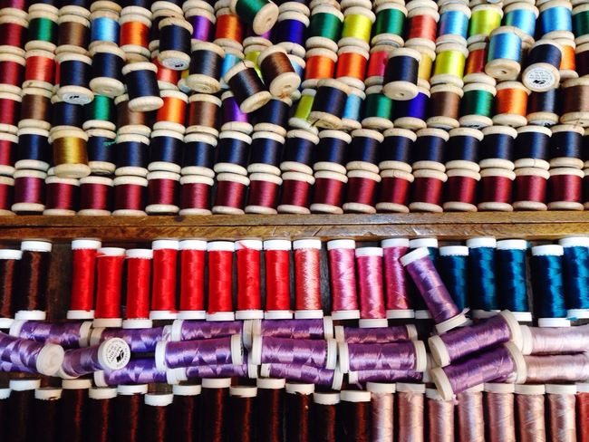 Rainbow Rainbow Colors Colors Reel Embroidery Thread Bobine Couture Mercerie Endlessness