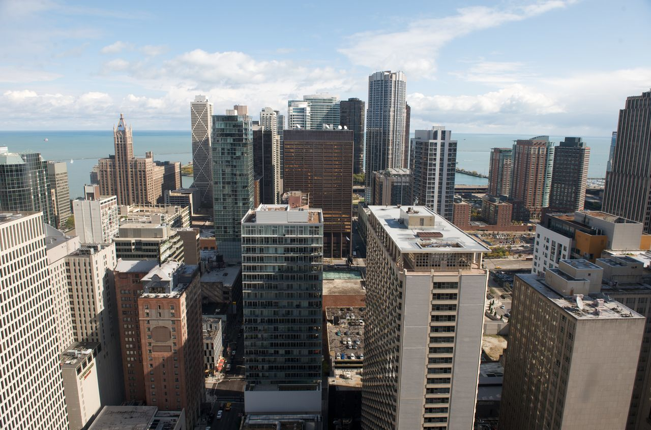 Beautiful stock photos of business,  Aerial View,  Building Exterior,  Business Finance And Industry,  Chicago