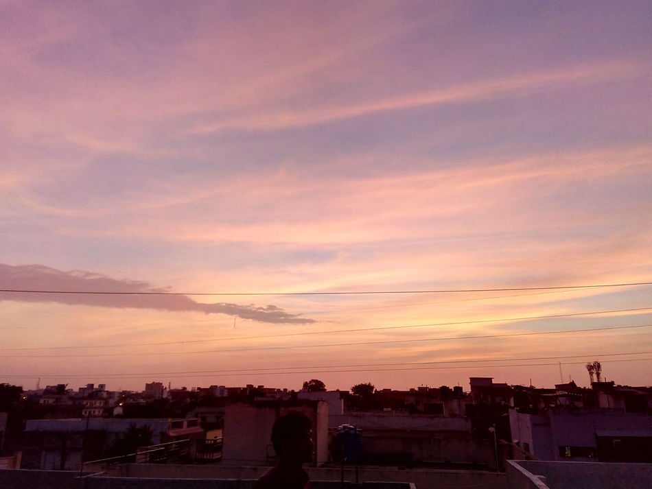 Heyyyy, Evening Photography Slum Area Orange Sky Shades Of Oranhe Beautiful Sky Best Of EyeEm The Week On Eyem But Still A Lot To See In Nagpur,India