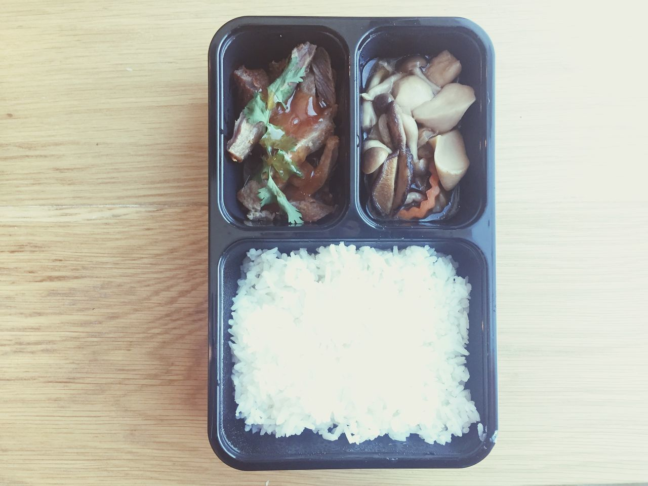 Lunch box Food And Drink Healthy Eating Lunch Box Ready-to-eat Freshness Meal Indoors  Eat Meal Freshness Pork Serving Size Table Rice