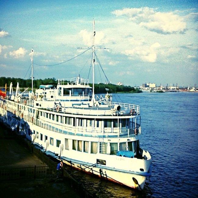 корабль красноярск Енисей Krasnoyarsk ship eastsiberia instapic