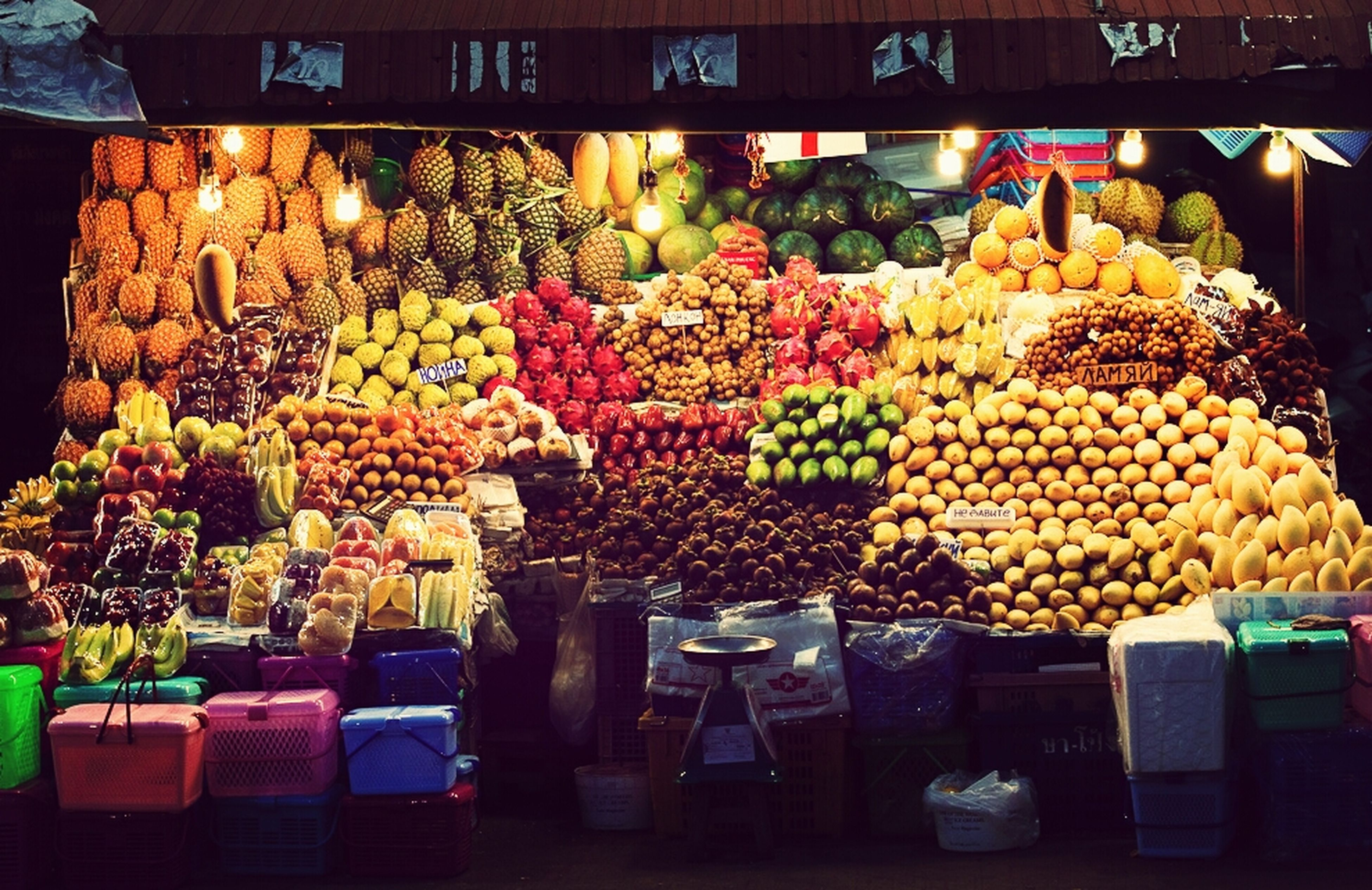 for sale, retail, variation, choice, food and drink, large group of objects, food, abundance, freshness, market stall, market, arrangement, display, indoors, healthy eating, store, still life, sale, collection, price tag