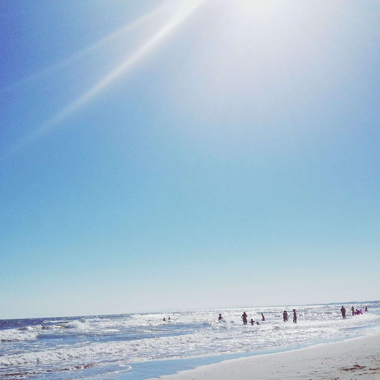Cap d'Agde ❤ France Summer 2013 Beach Bluesky