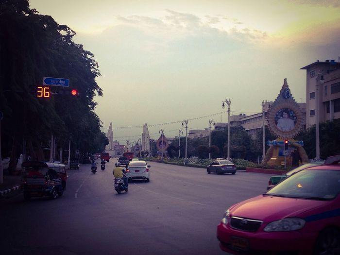 Bangkok Streetphotography On The Road