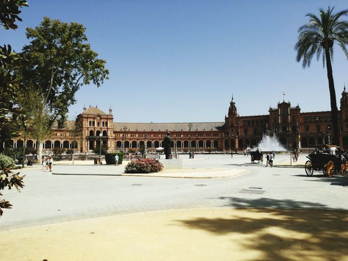 Sevilla Andalucía La Plaza De Espana España First Eyeem Photo