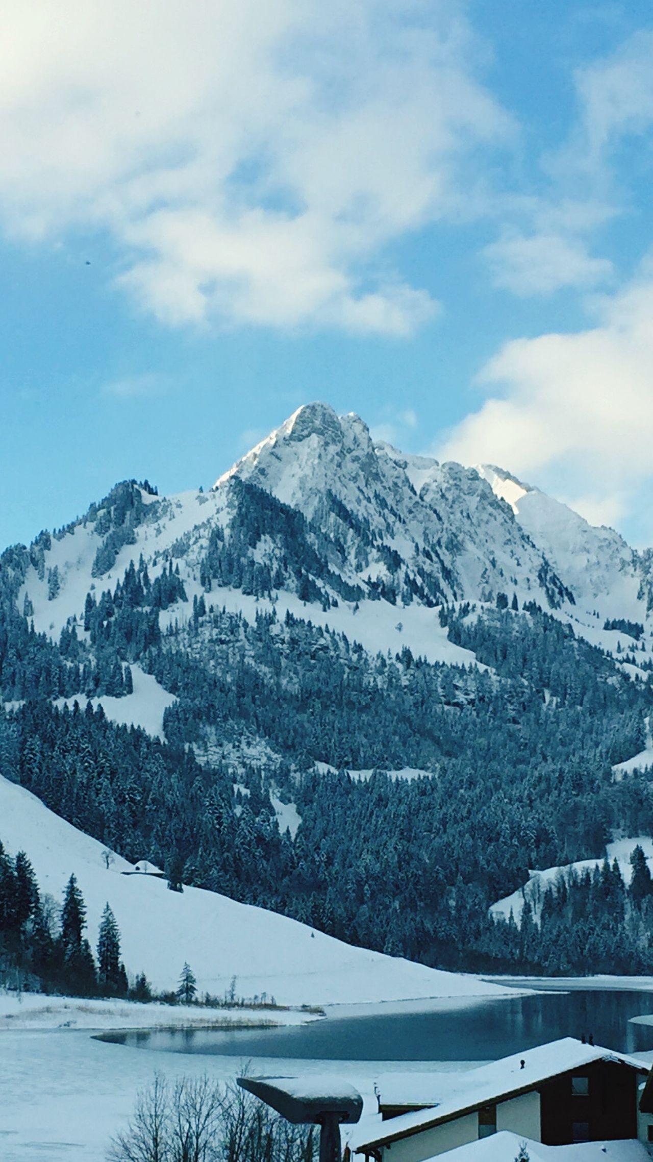 Spitzfluh Schwarzsee Snow ❄ Skiing