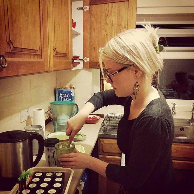 My very own J'Oliver rolling in the kitchen. Thisgirlisonfire Bestieprivileges Missoneinamillion