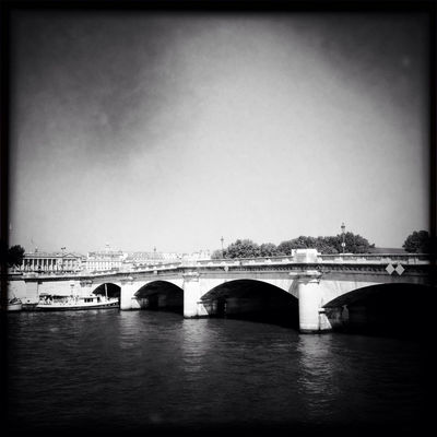 Hanging out at Pont de la Concorde by Angel Kelly