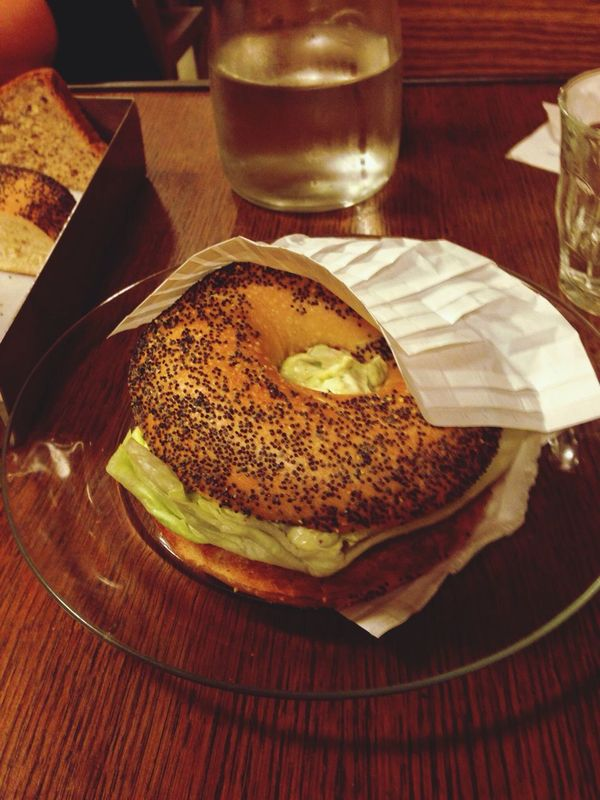 Bagel @ California Bakery in Milan ( Milano ) Enjoying Life