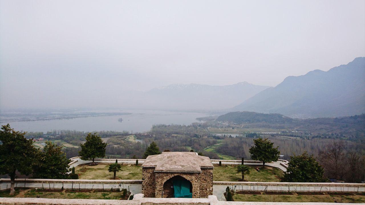 Dal Lake Dal Late View Pari Mahal Greenryeverywhere Mountain View Beautiful View Nature Outdoors Srinagar Kashmir