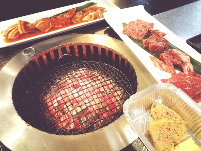 Japanese bbq Food Heat - Temperature Barbecue Grill Grilled Japanesefood Japanese BBQ  JapaneseStyle Japan Food Bbq Fun Times X Bbqnight Yummy ♥ I Love To Eat❤ Beef Pork Foie Gras Charcoal Food Food And Drink Freshness Healthy Eating Heat - Temperature Grilled Barbecue Grill Indoors  No People