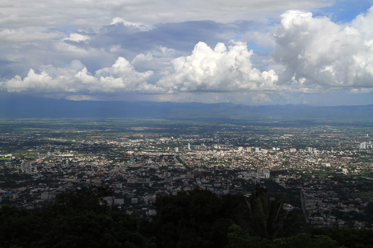 Chiang Mai City Cloud Cloud - Sky Nature Outdoors Sky Suptem Thai Thailand Thailand_allshots Town TOWNSCAPE