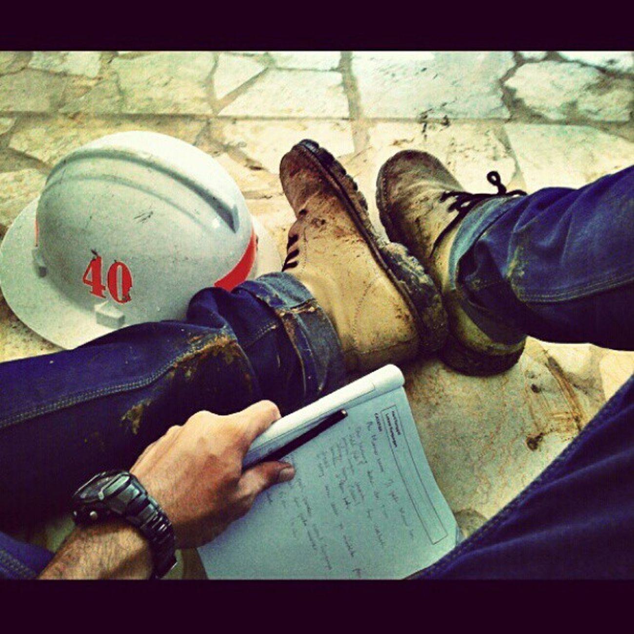 Ekskursi PT. Industri Marmer Indonesia Tulung Agung, Jawa Timur. MiningEngineering Kuliah Lapangan My Boot helmet safety Field Note instacool instapict instagood photooftheday pictoftheday