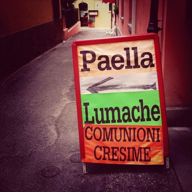 Paella Lumache Comunioni E Cresime