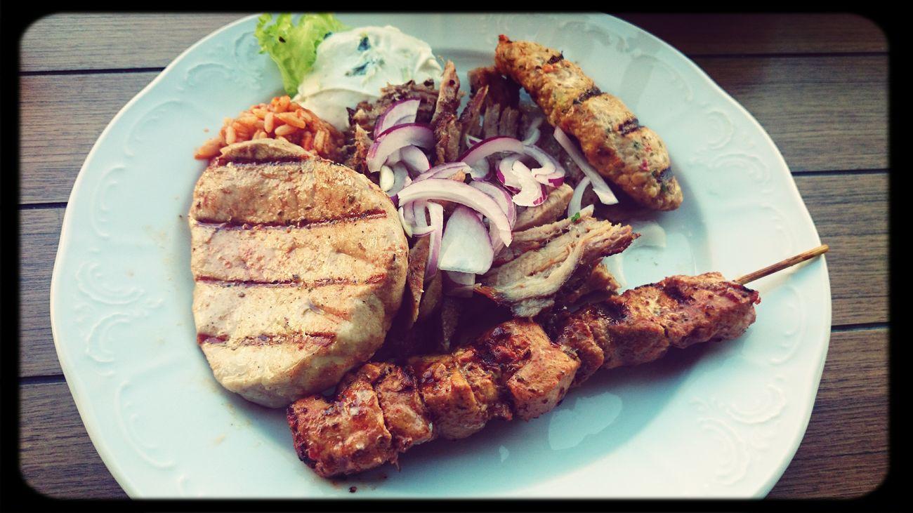 Some lovely Greek Food esta noche