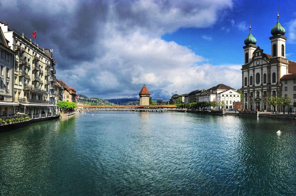 Afternoon in Luzern Switzerland