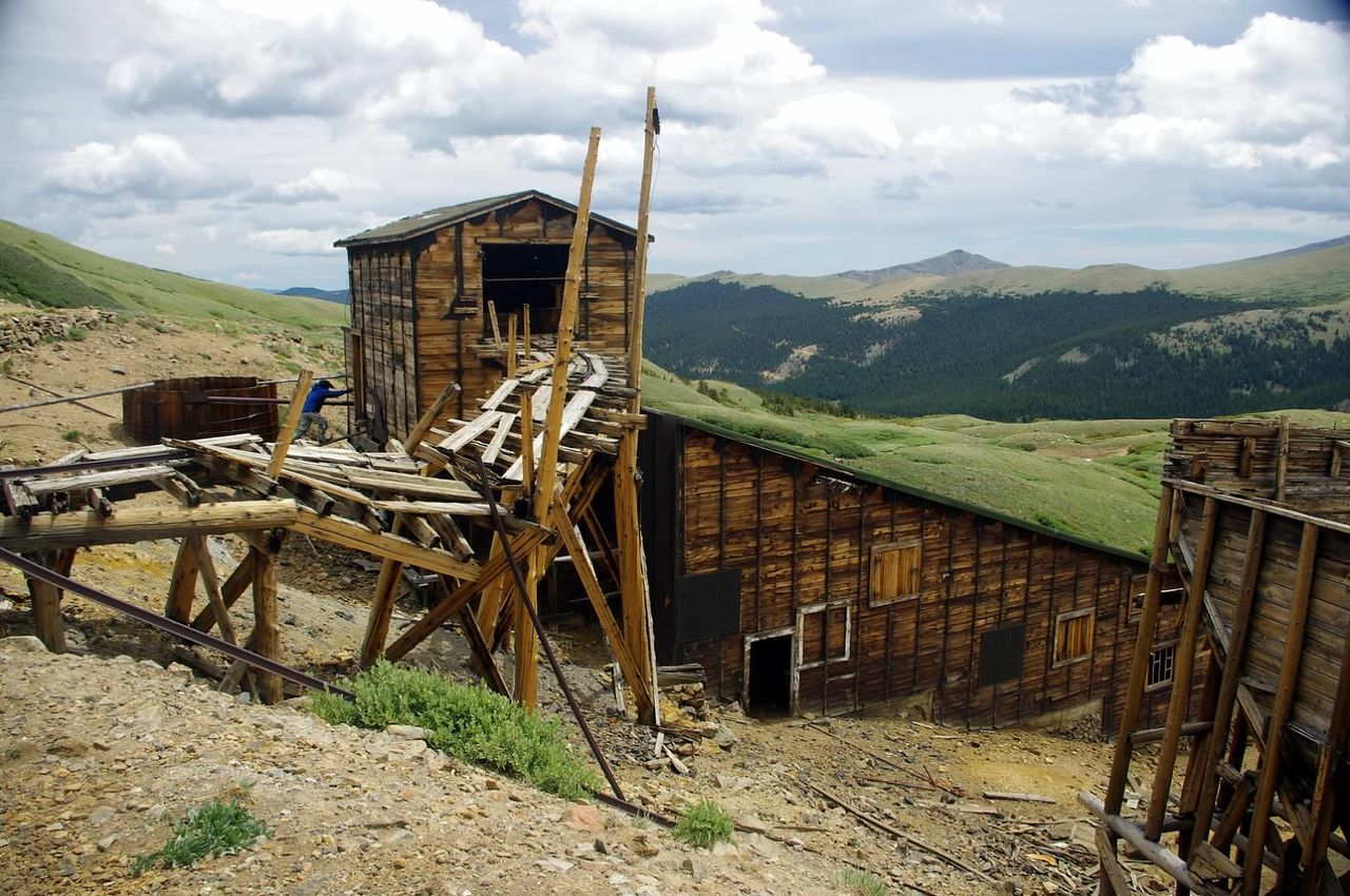 Colorado Photography Colorado Mining History Of America Scenics Landscape Mining Heritage Santiago Mine Argentine Pass