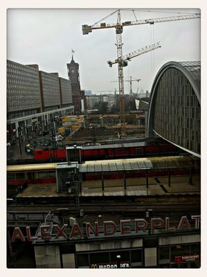 at Alexanderplatz by Anthony Barba