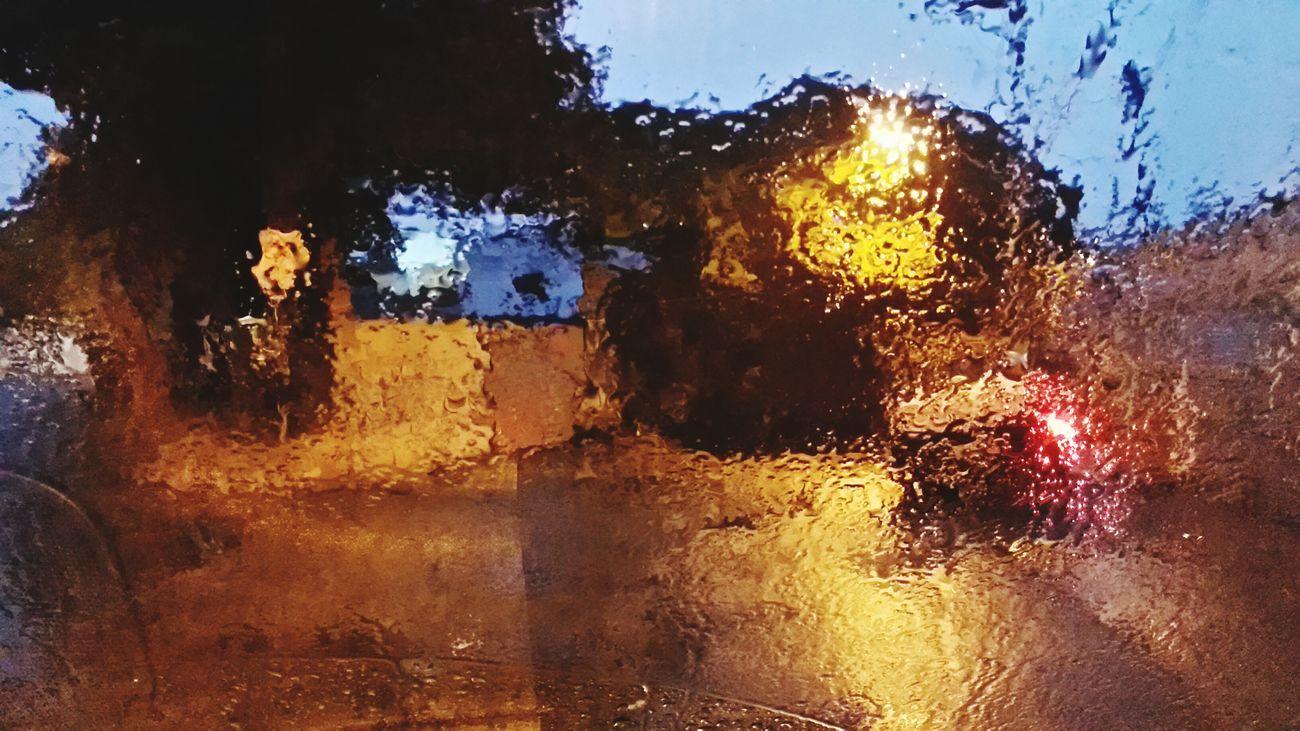 City Portrait Rain Night Streetphotography Nofilter No Title Glass